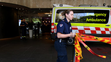 Paramedics treated 24 patients after the chemical leak.