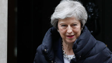 Theresa May has been warned on Huawei's involvement with Britain's 5G network.