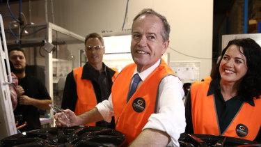 Labor leader Bill Shorten.