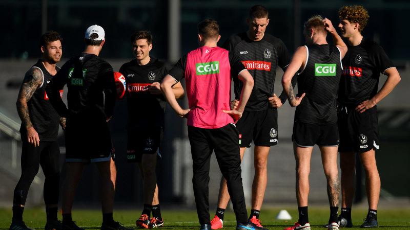 AFL players still not allowed visitors, despite easing