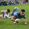 The Waratahs concede 56 points a game. It's the most in Super Rugby history