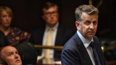 Bega MP Andrew Constance says he will never be the same after the bushfires.