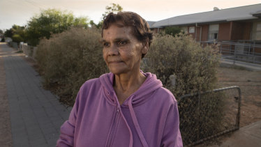 Adnyamathanha elder Leonie Brady asked for help when she was diagnosed with cancer, but was knocked back.