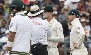 Australia have not played Tests in South Africa since the sandpaper scandal in 2018.