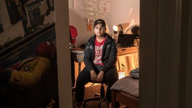 Bacchus Marsh Grammar student Ubaid Ahmed.