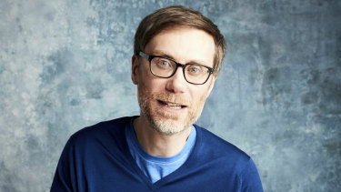 The Office co-creator Stephen Merchant.