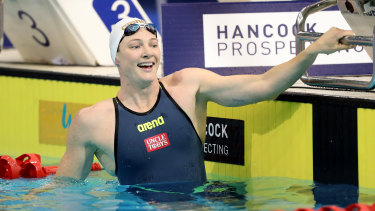 Cate Campbell is in the midst of her most demanding year of racing and is loving every moment.