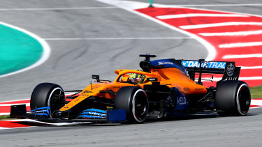 One McLaren crew member is in self-isolation after showing signs of coronavirus.