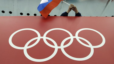 """The IOC had banned Russia from the Pyeongchang Olympics after it found evidence of an """"unprecedented systematic manipulation"""" of the anti-doping system."""