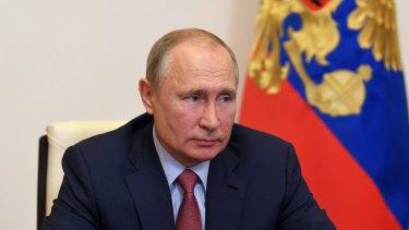 Not responsible: Russian President Vladimir Putin.