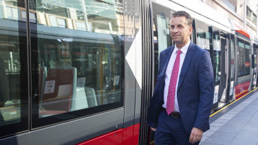 NSW Transport Minister Andrew Constance first floated the idea of trackless trams last year.