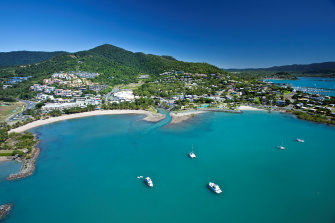 The Whitsundays would provide a stunning backdrop to the sailing event  at the 2032 Olympics.