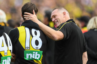 Carlton have approached former Richmond assistant coach Justin Leppitsch, right, on separate occasions.
