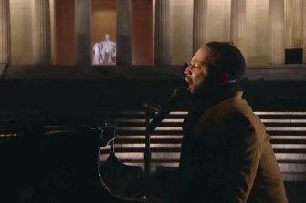 John Legend performs.