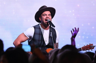 Guy Sebastian: the public love him, but what about his peers?