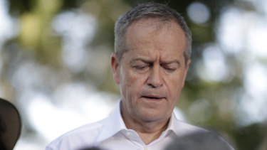 Opposition Leader Bill Shorten is facing a messy Senate fight over penalty rates if he becomes prime minister.
