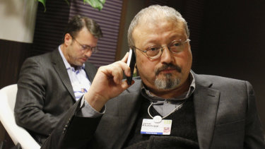 Saudi journalist Jamal Khashoggi.