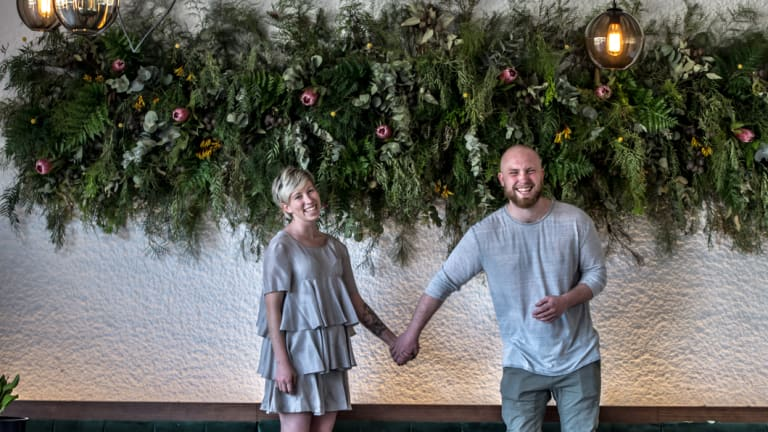 Dash Rumble and Ross McQuinn are opening Pilot restaurant in Ainslie.