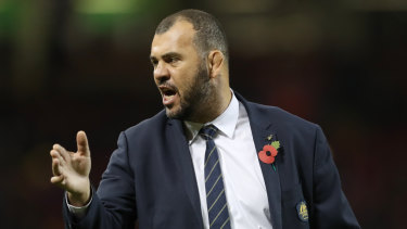 No bearing: Tough talking Michael Cheika says the World Cup clash with Wales is the one that really counts.