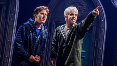 William McKenna, right, with Sean Rees-Wemyss in Harry Potter and the Cursed Child.