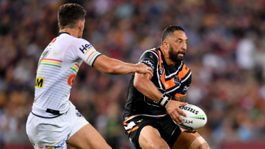 Returning: Benji Marshall's form this year has warranted a New Zealand recall.