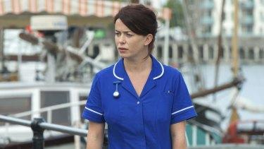 Eve Myles plays Frankie Maddox in Frankie.