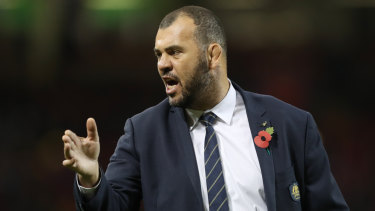 Michael Cheika will be in Canberra next week to discuss his World Cup plans.