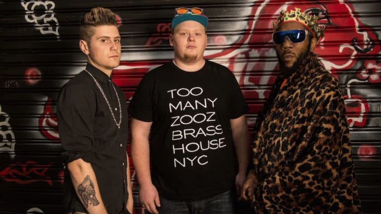 New York's funkadelic trio Too Many Zooz play Brisbane, Sydney, Melbourne, Mullumbimby and Queenscliff during November on their first Australian tour.