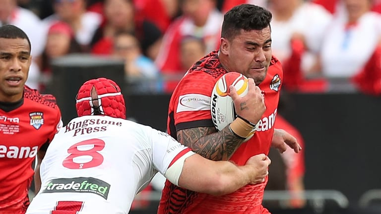 Waiting game: Andrew Fifita says he won't make a call on his NSW eligibility until later in the year.
