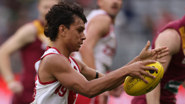 Draft hopeful Jesse Motlop is not eligible to be a father-son pick.