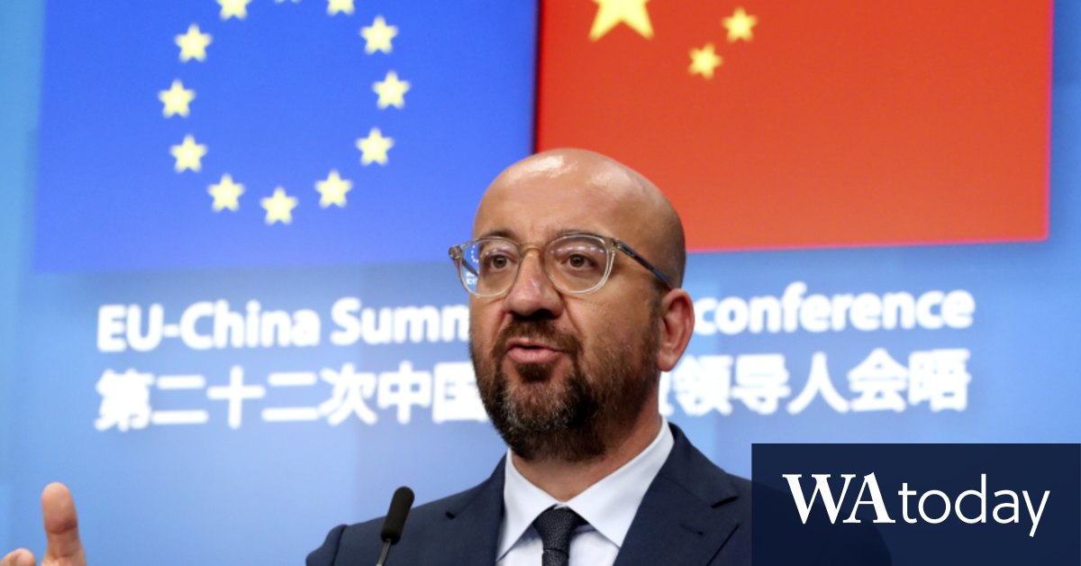 China rejects human rights plea during 'intense' EU trade talks