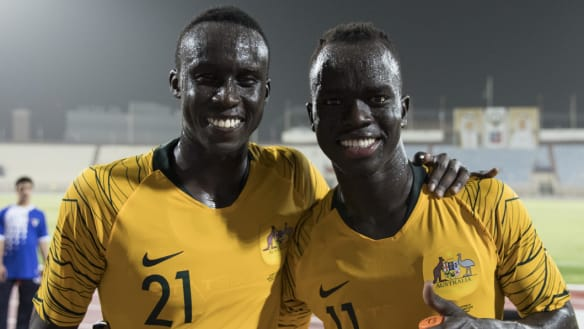 South Sudanese refugees share special Socceroo debuts in Kuwait