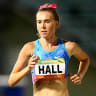 Linden Hall 'inspired by Deng' before breaking Australian mile record