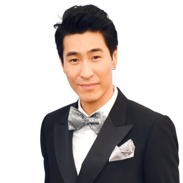 """Chris Pang: """"When 'Crazy Rich Asians' was first released, I got an influx of social-media activity on my accounts, including my first bare-chested picture from a female fan."""""""