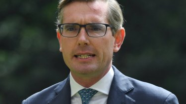 NSW Treasurer Dominic Perrottet.