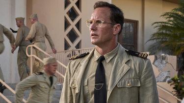 Patrick Wilson stars asintelligence officer Edwin Layton in Midway.