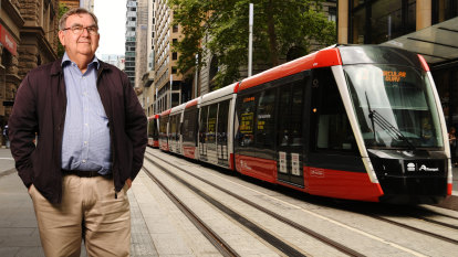 'Never dreamt we'd see it again': Almost 60 years between Sydney tram trips