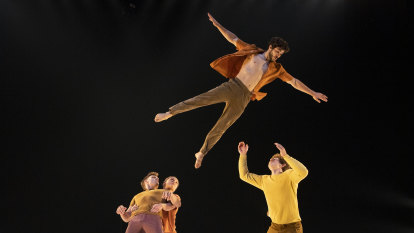 'Our mission is to ask what's possible': acrobats reach new heights at Sydney Festival