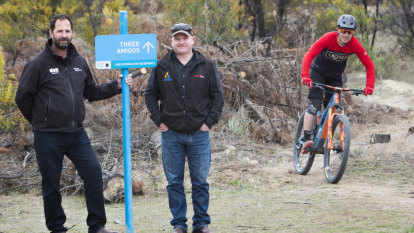 'It's opened a few eyes': Trail starts Stromlo mountain biking revival