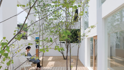 Japanese architect Sou Fujimoto's designs look out of the box