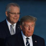 Scott Morrison is just the second global leader to be hosted at a state dinner by Donald Trump.
