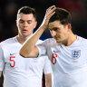 England's 10-year unbeaten qualifying run snapped in Czech defeat