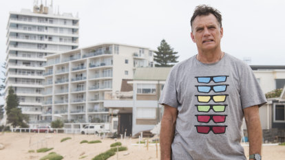 Half the people on NSW coast don't think rising sea levels will hurt them. Gary is not one of them