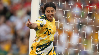 ViacomCBS is the new home for Sam Kerr and the Matildas for three years after a new $100 million deal was signed.