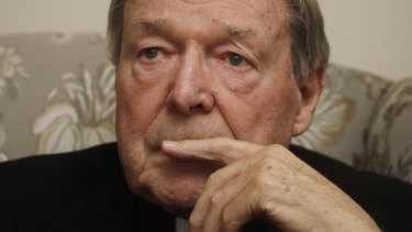 Dismayed by the intrigue: Cardinal George Pell.