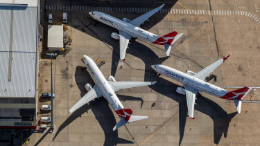 Stood-down Qantas workers have lost their Federal Court claim for paid sick leave.