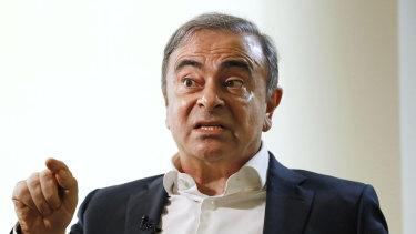 Former Nissan chairman Carlos Ghosn.