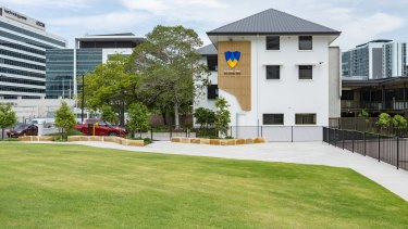Fortitude Valley State Secondary College in Brisbane's inner city is the first new school to open in the city centre for 50 years.