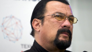 Steven Seagal didn't tell his millions of social media followers that he had been paid by Bitcoiin2Gen to endorse the company, the SEC said.