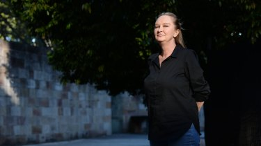 Nicky Tillier, who gave evidence about her journey through addiction with methamphetamine.